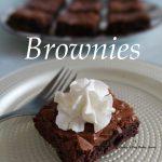 CHOCOLATE BROWNIES – Easy, Proper, Gooey Brownies – Caroline's Easy Baking  Lessons