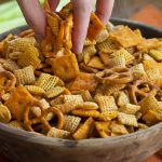 Our family's homemade version of Chex Mix is the best Bold & Buttery Snack  Mix recipe there is and it's so easy it…   Homemade chex mix, Microwave  snacks, Snack mix
