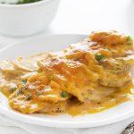 Cheesy Ranch Scalloped Potatoes - I Am Homesteader
