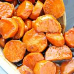 Candied Sweet Potatoes - Crunchy Creamy Sweet