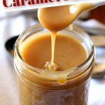 Quick and Easy Caramel Sauce in the Microwave | Cookies and Cups