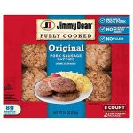 Jimmy Dean Fully Cooked Original Pork Sausage Patties 8 Count - 9.6 Oz -  Jewel-Osco