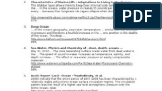 Increase Temperature Deep Ocean Pressure   PDF   Oceans   Atmospheric  Circulation