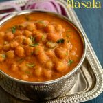 Spicy Treats: Channa Masala | Badami Channa Masala | Easy Chole Recipe |  Chickpeas In Almond Onion Tomato Gravy