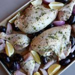 Oven Baked Butterfly Chicken with Potatoes and Carrots 烘烤番薯萝卜蝴蝶鸡 – The  Little Tot