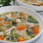 Chicken and Rice Soup (Slow Cooker) – Palatable Pastime Palatable Pastime
