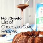 The Ultimate List of Recipes for Chocolate Cake! ⋆ NellieBellie