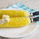 Freshly Shucked, Oven Roasted Corn on the Cob -