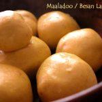 Microwave Besan Ladoo (4 Ingredients) Chickpea Dessert Fudge