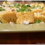 Steamed Chickpea Bread (Instant Microwave Khaman Dhokla) - Cook2Nourish |  Healthy Indian and Indian Fusion recipes