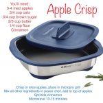 Apple Crisp in the Tupperware MicroPro Grill - joray.my.tupperware.com | Tupperware  recipes, Grilling dessert recipes, Tupperware pressure cooker recipes