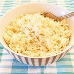 Easy cauliflower rice - ready in 10 minutes - Foodle Club