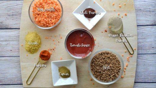 Easy Vegan Chili w/ Lentils & TVP • Struggle Kitchen.