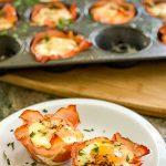 Super Easy Ham and Egg Cups ~ amycaseycooks