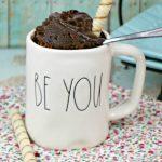 No Egg Chocolate Mug Cake for Two | Just Microwave It