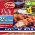 Almost 12 million pounds of Tyson chicken strips have been recalled because  they might have metal | wqad.com