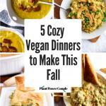 5 Cozy Vegan Dinner Recipes to Make This Fall - plantpowercouple.com