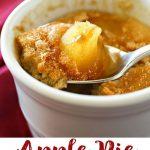 Apple Pie Mug Cake, everything you love about cinnamon & apple pie in an… |  Mug recipes, Quick easy desserts, Microwave mug recipes