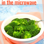 How to Steam Frozen Broccoli in the Microwave | Just Microwave It
