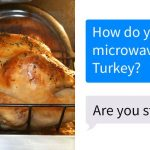 People Ask Their Parents How To Cook A 25 Lb Turkey In A Microwave And Here  Are 31 Hilarious Responses   Bored Panda