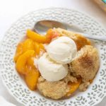 Gluten-Free Peach Cobbler - Meaningful Eats