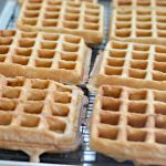 Goats cheese and pesto sourdough waffles – The home of great sourdough