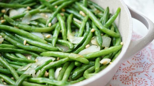 Green Beans with Crispy Onions – Palatable Pastime Palatable Pastime