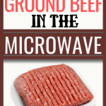 How to Cook Ground Beef in the Microwave | Just Microwave It