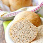 Soft Gluten Free Hamburger Buns and DIY Gluten Free Flour Mix - Petite  Allergy Treats