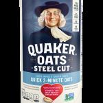 Steel Cut Oats Quick Cook   Quaker Oats