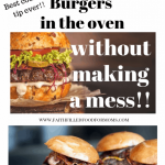 How to Cook Frozen Burgers in the Oven Without a Mess • Faith Filled Food  for Moms
