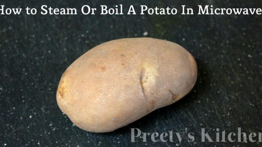 Preety's Kitchen: How to Steam Or Boil A Potato In Microwave