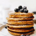 BEST Whole Wheat Pancakes [Easy Recipe] - The Healthy Maven