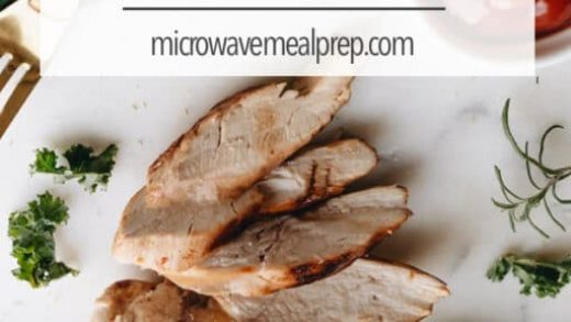 How to Reheat Chicken in Microwave – Microwave Meal Prep