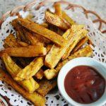 Oven Bake Sweet Potato Fries Recipe