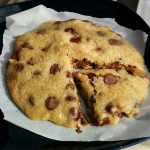 2 Minute Chocolate Chip Cookie (no egg)   Heather's Homemade