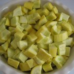 Steamed Yellow Crookneck Squash, Cooked in a Microwave   Textual Tastebud