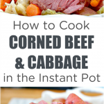 How to Cook Instant Pot Corned Beef and Cabbage - Mom 4 Real