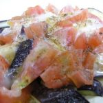 Italian-Style Eggplant and Tomatoes in 5 Minutes in the Microwave Recipe by  cookpad.japan - Cookpad