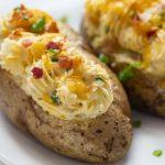 Microwave Baked Potatoes: Time Saving Method