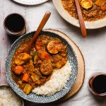 Vegan Japanese Curry with Red Lentils (Gluten-Free) - Ellie Likes Cooking