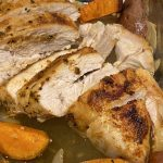 Turkey Breast with Sweet Potatoes & Onions - Marilyn Dishes
