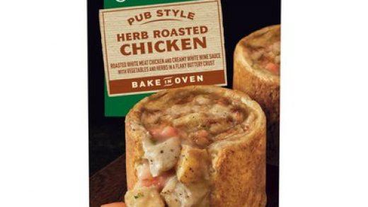 Marie Callender's Herb Roasted Chicken Pub Style Pie (20 oz) - Instacart