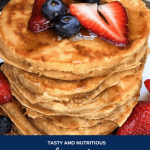 Fluffy Whole Wheat Pancakes - Small Gestures Matter
