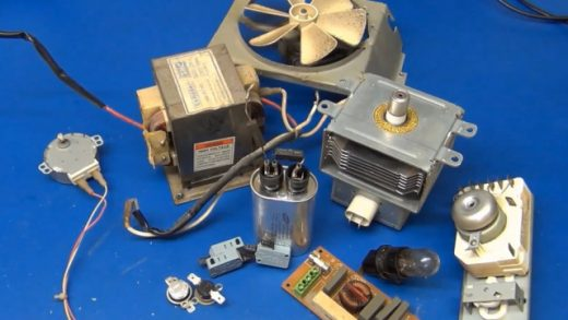 One Man's Microwave Oven Is Another Man's Hobby Electronics Store   Hackaday