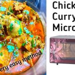 Microwave Coconut Chicken Curry