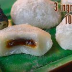 Pandan Mochi With Purple Sweet Potato 班蘭紫薯糯米糍– EC Bakes 小意思