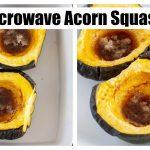 Easy 15 Minute Microwave Acorn Squash   Add Salt & Serve