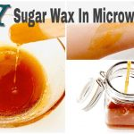 Follow a simple approach to make sugar wax in the microwave | DIY Crafts
