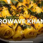 Microwave Khandvi Recipe by Ruchita Chauhan - Cookpad